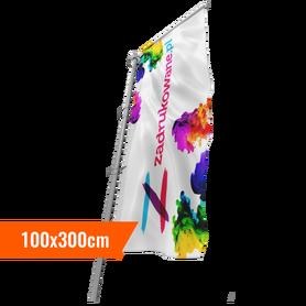 Flaga 100 x 300cm