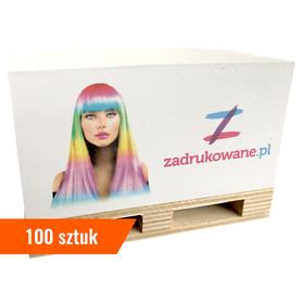 Minipaletki reklamowe z nadrukiem - 100 sztuk