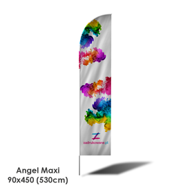 Beach Flag Angel Maxi 90x450 (530cm)